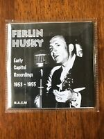 Ferlin Husky 1953-55 Early Capitol Country Western Cowboy Music CD BACM