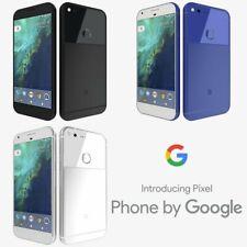 """New Google Pixel XL 5.5"""" At&t T-Mob Verizon Smartphone/Very Silver/128GB"""