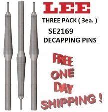 etc. SEE LIST INSIDE SE2317 LEE Decapping Pins 7mm Rem // 280 Rem 3-Pack New