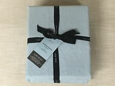 West Elm Moonstone Belgian Flax Linen Full/Queen Duvet Cover
