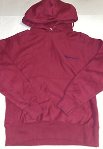 CHAMPION DARK PINK HOODIE SIZE SMALL PRE-OWNED