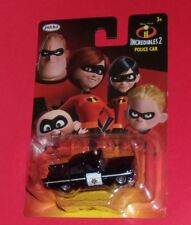 INCREDIBLES 2  POLICE CAR die cast Disney Pixar  JAKKS