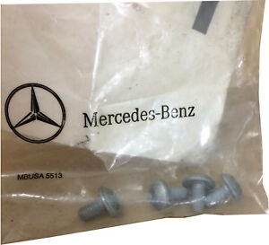 LOT OF 4 * Mercedes Benz Hexalobular Bolt-Center Support Screw OEM N000000001475