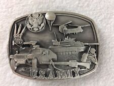 Bergamont Belt Buckle US Army Pewter 1991 T-132