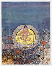 Harvest Moon Charles Rennie Mackintosh print in 10 x 12 inch mount SUPERB