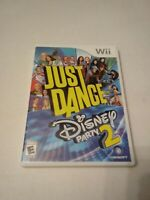Nintendo Wii Just Dance Disney Party 2  Complete Tested! Works!