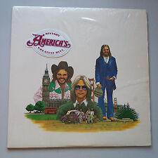 America - History Greatest Hits Vinyl LP US 1st Press Stickered Shrink EX+/EX+