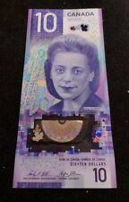 NEW Canada 2018 10 Dollar Banknote  VIOLA DESMOND GEM UNC. FTW Prefix