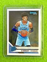 JA MORANT ROOKIE CARD JERSEY #12 GRIZZLIES TRUE RC  2019-20 Donruss RATED ROOKIE