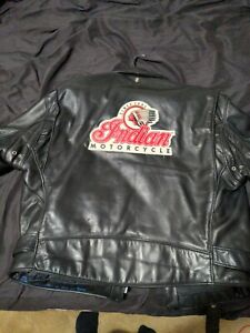 Leather Indian Motorcycle Jacket
