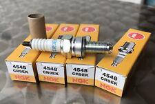 4 pièces Bougie d'allumage NGK cr9ek, zrx 1100, zrx1100, zrx 1200, zrx1200, 4548, plugs