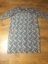 Black Ivory Lace Overlay Dress From Joe Browns Size 28