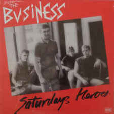 The Business ‎– Saturdays Heroes LP / Ltd Vinyl New Re (2013) Punk Oi