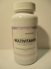 Multivitamin 60 Kapseln hochdosiert 13 wertvollen Vitamine und 14 Mineralstoffe