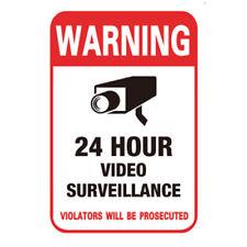 10PCS Surveillance Security Camera Video Sticker Warning Decal Sign 10 x 15cm
