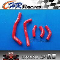 FOR HONDA CRF450R CRF 450 R 2005 2006 2007 2008 silicone radiator hose kit RED