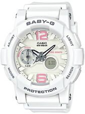 Casio Baby-G * BGA180BE-7B Anadigi G-Lide White and Pink COD PayPal