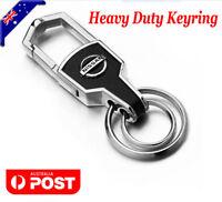 Car styling Silver Car Key Ring Keyring Keychain Chain For Nissan Car 4WD AWD