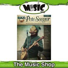 New Pete Seeger Banjo Play Along Music Book & CD - Volume 5