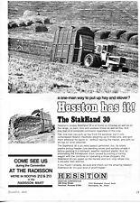 1973 Dealer Print Ad of Hesston StakHand 30 Hay Baler