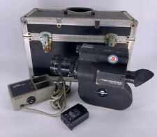 Pro CANON SCOOPIC 16 M 16mm MOVIE CAMERA Case Charger NEEDS TLC