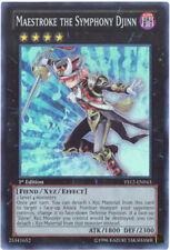 3 x Yu-Gi-Oh Card - YS12-EN043 - MAESTROKE THE SYMPHONY DJINN (super rare holo)