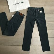 BNWT LACOSTE Velours Jeans RRP £ 129 10y (140) & Lots Designer objets 100% Véritable