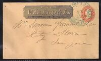 1860s Wells Fargo on U27 to San Jose, California - Tied by Wells Fargo CDS