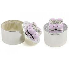 Baby Girl Gift Silver Plated Keepsake Trinket Box LP24396