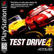 Test Drive 4 PS1 Great Condition Fast Shipping