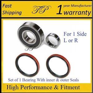 Set of 2 Front Inner Wheel Bearing fits 1999 Chevrolet Tracker for Left /& Right Side