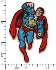 20 Pcs Embroidered Iron on patches Flying Superman Badge 4.5x7.2cm AP012bA