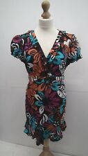 Multi Coloured Print Longline Top from Rocha John Rocha size 16