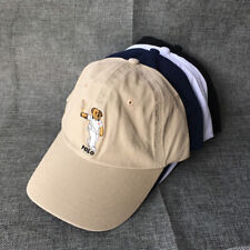 Classic Baseball Cap Embroidery Tenis Teddy Bear Men Hat Khaki Vintage Outdoor