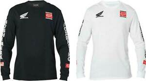 Fox Racing Yoshimura Honda Long Sleeve T-Shirt - Graphic Tee Mens Motocross ATV