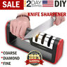 KNIFE SHARPENER Professional Ceramic Tungsten Kitchen Sharpening System Tool NEW