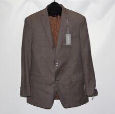 New Michael Kors Men's 42L 35W Chocolate Brown 2 Piece Suit Set