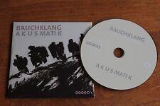 Bauchklang Vocal Groove Project / Europe PromoCD / Akusmatik  2012
