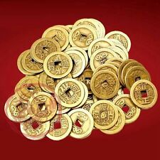30PCS Feng Shui Chinese Ching Dynasties Emperors Old Lucky Coins For Fortune