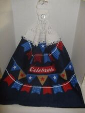 Crochet Kitchen Towel ~ 4th of July ~ **Gift Idea