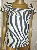VERONIKA MAINE by CUE Blouse Camisole TANK Top Dressy SHIRT Suit Career 6 XS