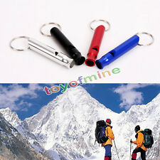 5 Pcs Survival Whistle Emergency Camping Compass Kit Fire Hiking Outdoor  Tool