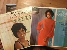 Nancy Wilson Lp Lot: How Glad I Am/ Today, Tomorrow, Forever.Classic Soul-R&B