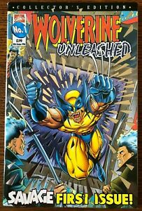Wolverine Unleashed #1 UK Exclusive Series! Panini/Marvel Comics Foil Cover