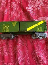 MARX O TRAINS 8 Wheel # 1950 DF GAEX box car