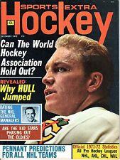 1972 (Dec.) Sports Extra Hockey Magazine Bobby Hull, Chicago Blackhawks
