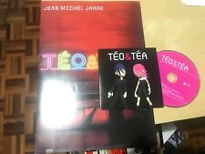 JEAN MICHEL JARRE - TEO & TEA CD SINGLE PROMO + SPANISH PRESS KIT DRO 2007