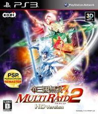 USED Game PS3 Shin Sangoku Musou Multi Raid 2 HD Version