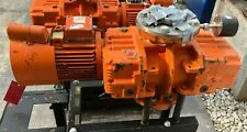 Cit Alcatel Rsv 500 Vacuum Pump And Motor On Rolling Stand