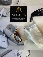 Miura CB57 3 Iron Head only- Brand New- Genuine- Japanese Forged-Taper fit